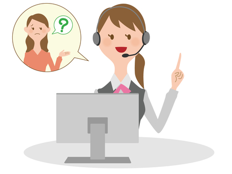 Call center woman 03