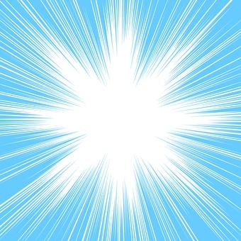 Strength line light blue