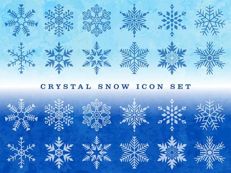 Snow Crystal Set-03