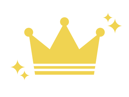 Crown crown crown icon glitter