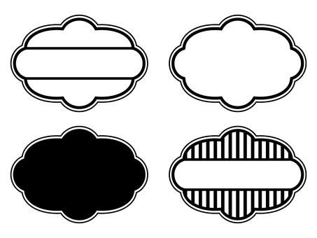 Four labels