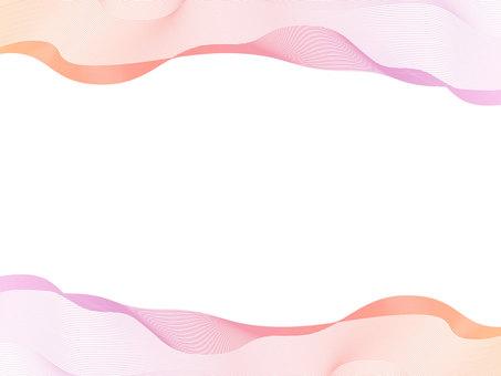 Streamline frame pink