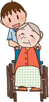 [간호] 휠체어 / 노인