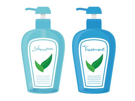 洗髮水和護理2