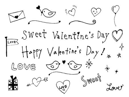 Handwritten Valentine Material 2