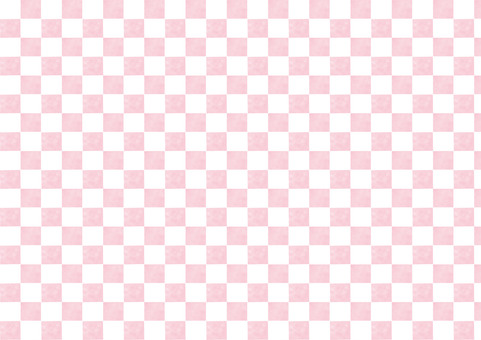 체크 무늬 핑크