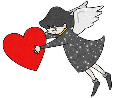 Heart and angel.3
