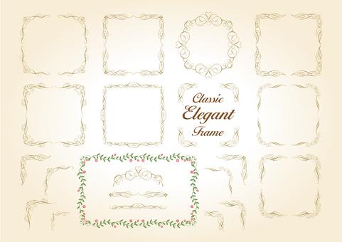 Elegant frame _ horizontal _ol