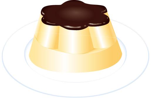 Food petit pudding