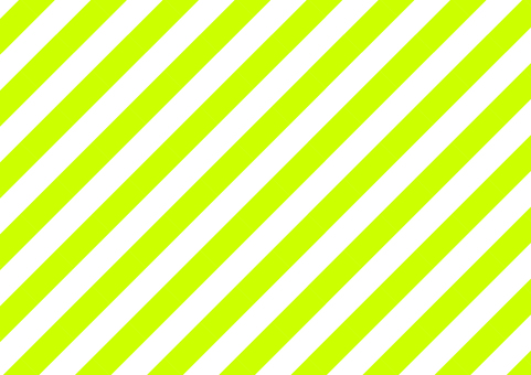 Naname thick stripe (yellow green)