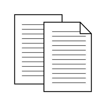 Paper (copy paper, document, letter)