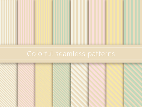 Cute pattern swatch colorful