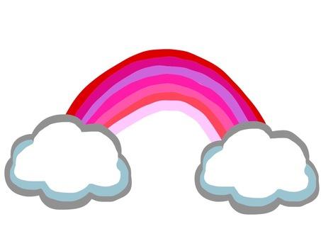 Rainbow from cloud 2