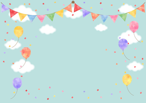 Festival _ Pastel background