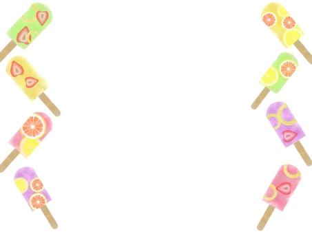 Popsicle frame