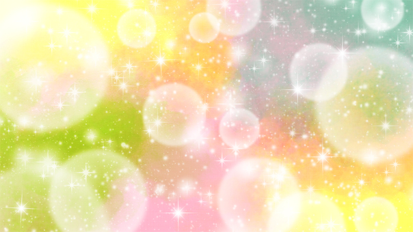 Video material Glittering fluffy effect background