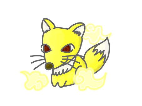Cute fox (divine beast)