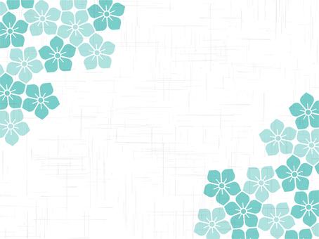 日本紙樣式框架 - 風鈴草