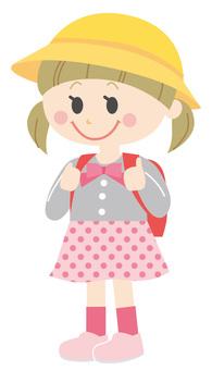 Elementary school girl 1