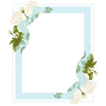 Rose frame (mint)