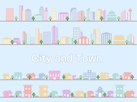 City and Town