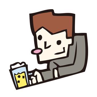 A drinker