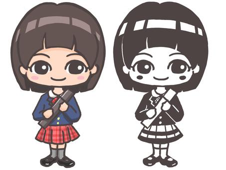 Elementary school graduates (girls)
