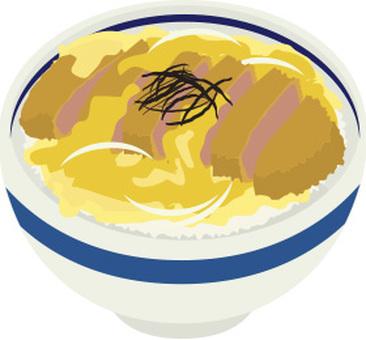 돈까스 덮밥