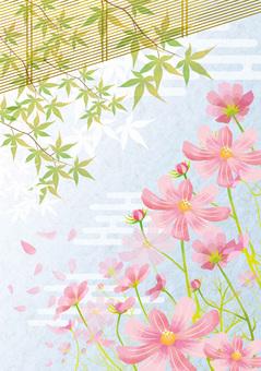 秋天的櫻花