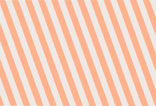 條紋橙灰色