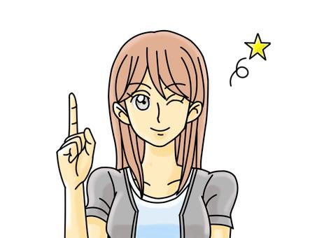 MK 긴 여성 23