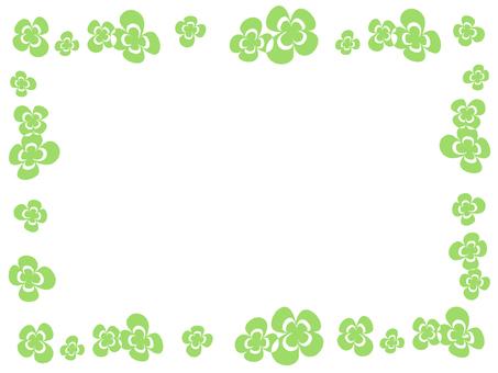三葉草的裝飾框架9