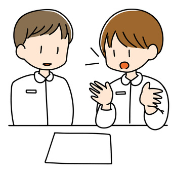 Image of nurse ordering