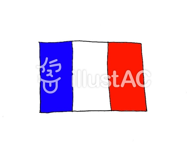 フランス 国旗イラスト No 623364無料イラストならイラストac