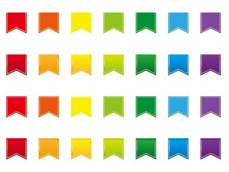Various ribbons 6