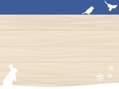Winter grain frame