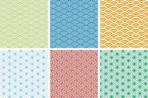 日本傳統圖案Swatch的日本圖案