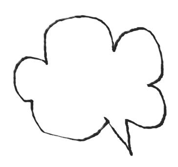 Balloon handwriting