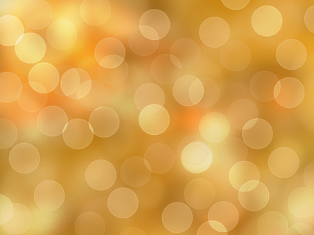 Ball blur background (gold)