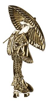 Kabuki actor part 3 Gold version