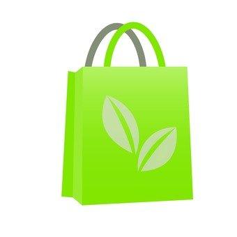 Leaf pattern bag