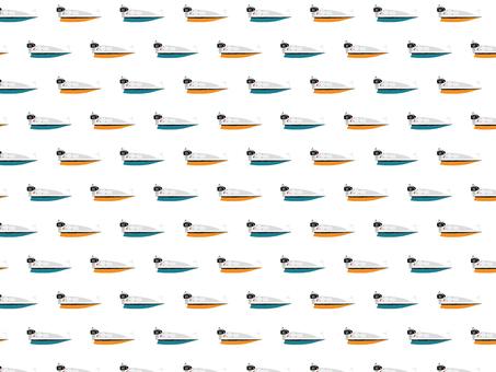 Racing boat pattern (alternate)