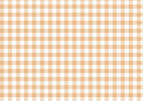 Gingham check <Beige>