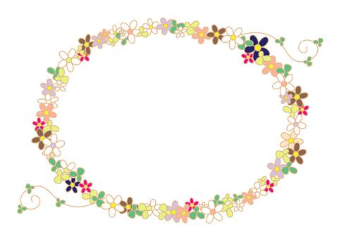 Flowering frame