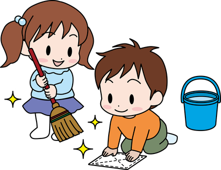 Infant / cleaning