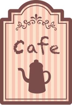 Cafe Pot Tag