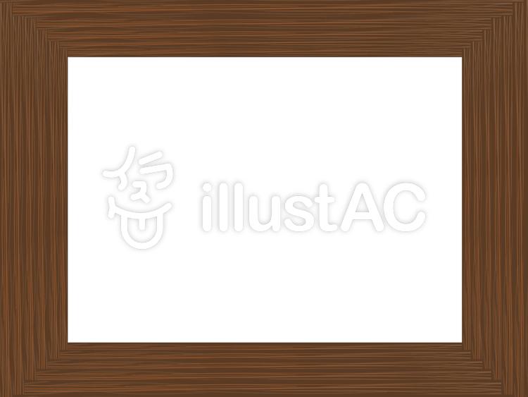 木枠のフレームイラスト No 1069394無料イラストならイラストac