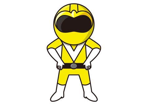 Huang Ranger - Standing pose