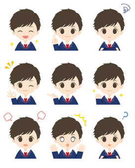 Student-kun * Short hair