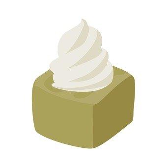 소프트 크림 탄 케이크